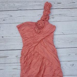 Bcbg chiffon Dress like new